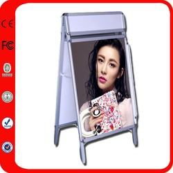 Advertising Double Sided Aluminum Waterproof Stand Outdoor Poster Frames Wholesale