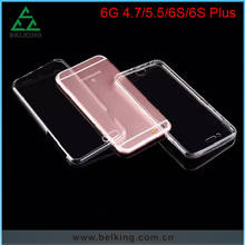 For iPhone 6 TPU Protective Rubber Full 360 Degree Cover Case, Hybrid TPU Case For iPhone 6