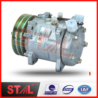 12V Electric SD507 Car Auto Ac Compressor Price Universal 507