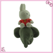 giocattoli di peluche simpatico elefante giocattolo per la casetta