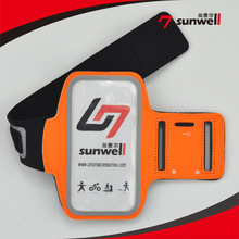 China Manufacturer Gym Running Jogging Sport Reflective Fabric Armband for iphone 6