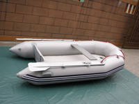 CE approved mini inflatable boat with motor