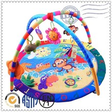Safe material cotton happy baby developing toys