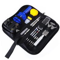 Multifunctional Watch Repair Tools Set Case Opener Adjuster 13 Pcs Watch Repair Tool Kit,Watch repairer
