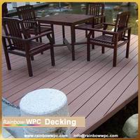 wpc outdoor wood composite plastic deck tiles, wpc floor for garden