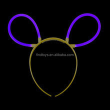 2015 China Fashion Purple Glow Bunny Ears for Kids
