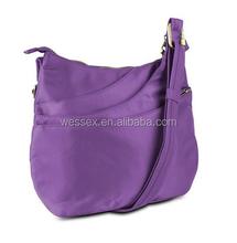 Purple Shell Shaped Shoulder Bag Ladies Sling Bag 3 Cross-by Shoulder Bag