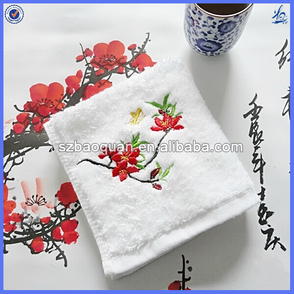 Embroidery Cheap Cotton Hand Towels Wholesale