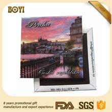 China Supplier Prague Souvenir Fridge Magnet
