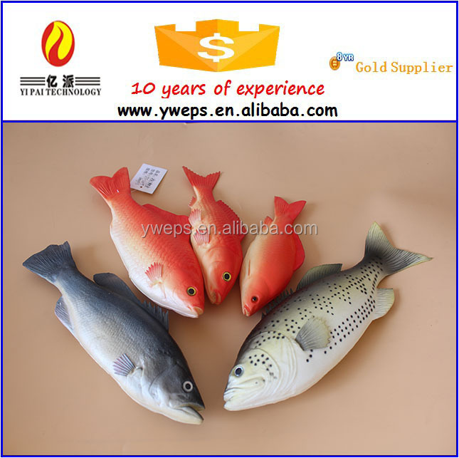 Hot Sale Realistic Soft Plastic Fish Toys For Kids