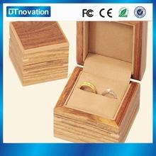 Wholesale Wooden Stock Engagement/Wedding Ring Box