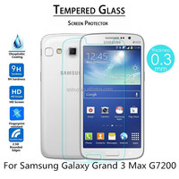 9H Tempered Glass Screen Protector For Samsung Galaxy Grand 3 Max G7200 Tempered Glass Screen Film