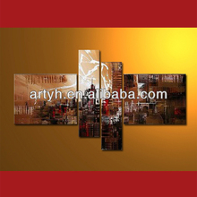 2013 Hot order handpainted living room decoration picture design