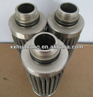 Cooking oil recycling filter/melt oil filter elements oil filter for industry