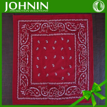 cheap Good quality of wholesale polyester tie dye ombre paisley bandana