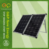 GP 160W Mono Foldable solar panel in high module eficiency for solar dropshipping