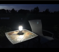 2015 New Design Camo Pattern Led The Lamp Tabletop Light Dry Battery