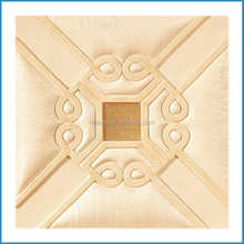 Leather look interior background wall,resin wall tile,decorative wall brick