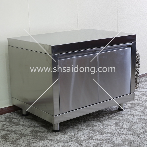 BBQ Island Stainless Steel Outdoor Kitchen Cabinet With Drawer
