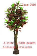 2014 new design garden products exotic and tropical bonsai artificial plant and flowers----0456