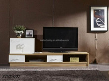 High quality classic wooden lcd tv stand design