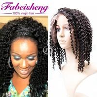 Grade 7a Virgin Hair,Good quality 100% virgin Brizilian virgin human hair full lace wig