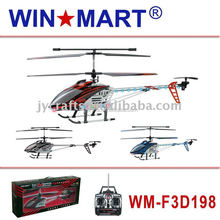 WM-F3D198 large 3ch metal gyro remote control helicopter