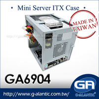 GA6904 mini server racks with 4 Hot Swap Tray for Home Surveillance System