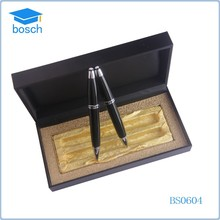 Fashion quality slide logo metal pen for promotional