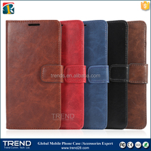 alibaba china genuine leather wallet case for samsung galaxy note 5
