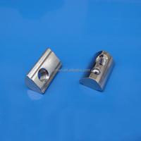 Steel Half Round Nut for aluminum profile