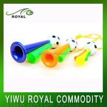 Custom Football Fans Sports Cheap Plastic Trumpet