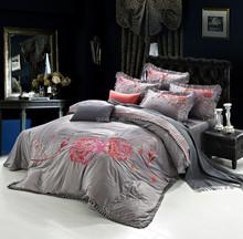 Plain design tencel embroidery china supplier short MOQ