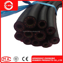low pressure industrial flexible air/water rubber hoses with fiber reinforced