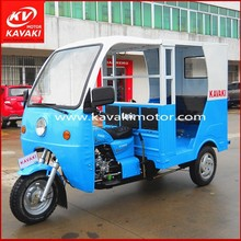 Guangzhou Wholesale 3 Wheel Electric Scooter Three Wheel Cargo Adult Motorcycle / 3 Wheel Tricycle with cabin