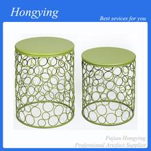 Decorative new design metal cast iron stool