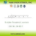 Acetato de vitamina E natural D-alpha tocoferil acetato