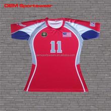 Team set shirts custom practice oem rugby jersey