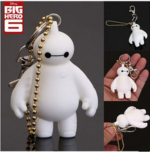 Europe and America Hot Selling Big Hero 6 Baymax In White New Design Big Hero 6 key chain