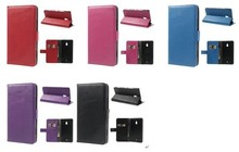 Litchi Leather Diary Stand Cover for nokia lumia 1320 pu leather flip case RM-994 RM-995 RM-996