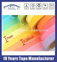 Heat resistant waterproof masking tape with colorful choice