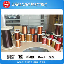 Polyester enameled aluminum wire for distribution transformer winding
