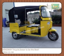 China Supplier 2015 New Three Wheeler New Tuk Tuk,Bajaj Auto Rickshaw Price In India, Tricycle Passenger With Cabin