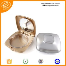141 Luxury empty compact make up container makeup container/compact powder case/cosmetic packaging