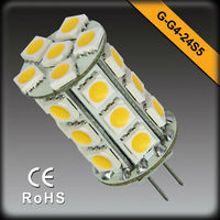 Factory Directly Supply! 12V AC&DC G4 SMD LED Boat Light a 360 Degree EMC LVD RoHS Approved