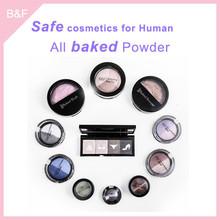 Baked Eyeshadow Cosmetic set for beauty girls cosmetic sets eye brow defining brush