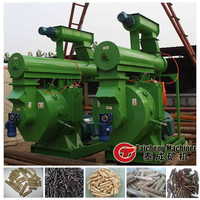 Agricultural and wood wastes coconut shell/ leaves/ branches/peanut shell pellet fuel briquette making machine