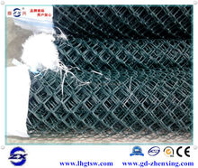 Manufacturer professionally supply PVC-coated chain link fence with opening 50*50cm
