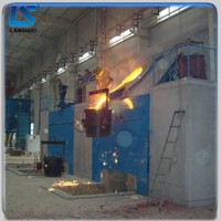electric stainless steel induction smelter 1~5ton