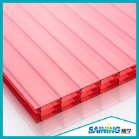 wholesale polycarbonate multi wall hollow sheet